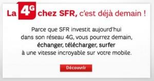 Réseau 4G chez SFR