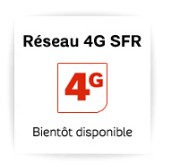 Réseau 4G SFR