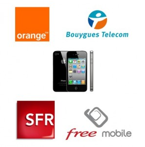 iPhone Free Mobile Orange SFR Bouygues