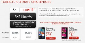 NRJ Mobile Ultimate Smartphone