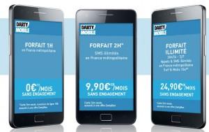 Forfaits Darty Mobile