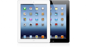 Nouvel iPad Noir et Blanc