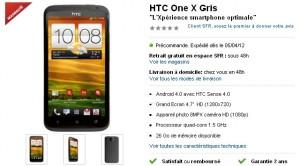 HTC One X SFR