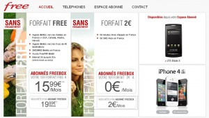 Site Free Mobile