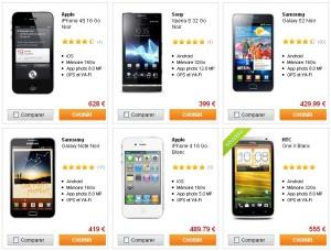 Mobiles compatibles 3G