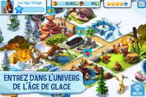 L'age de glace application