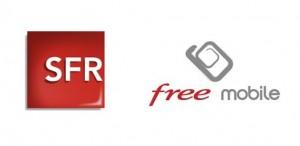 Logos SFR Free Mobile
