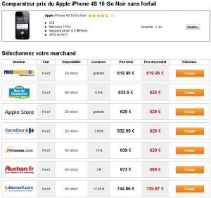 Comparer mobiles sans abonnement