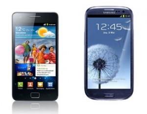 Samsung Galaxy S2 ou Samsung Galaxy S3