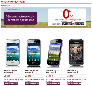 Promo Virgin Mobile Extaz M