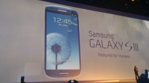 Présentation du Samsung Galaxy S3