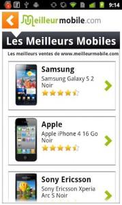 Appli mobiles
