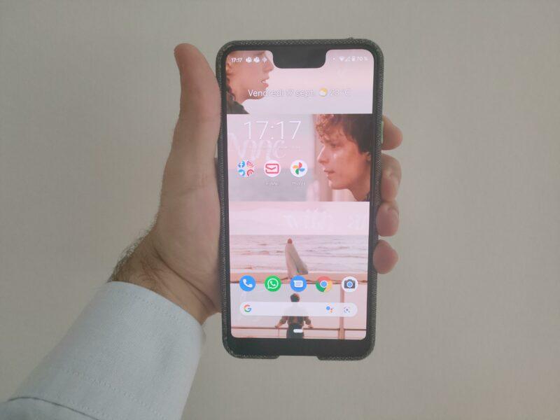 capture d'écran Android