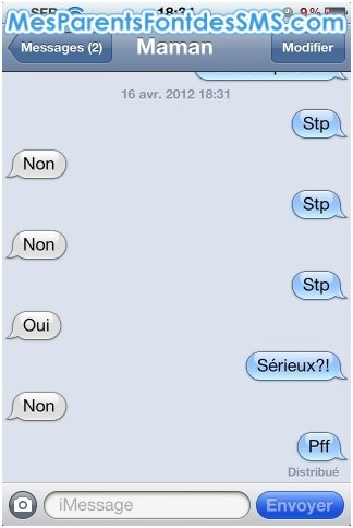 SMS1 - Le top 10 des pires SMS de parents