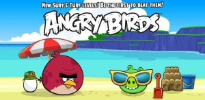 angrybirds1 300x146 - Application Angry Birds sur iPhone et Android