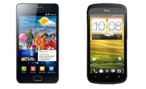 Comparer ces mobiles : Samsung Galaxy 2 et HTC One S