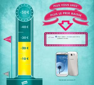 capturesoshfb1 300x271 - Sosh : faites baisser le prix du Samsung Galaxy S3