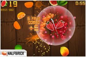 fruitninja 300x200 - 5 jeux sur mobile à emmener n'importe où