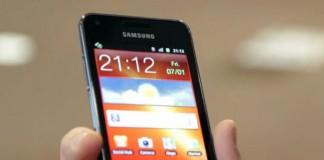 Voir la fiche du Samsung Galaxy S Advance