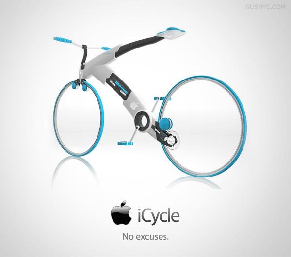 icycle - 5 produits Apple qui n'existeront (sûrement) jamais