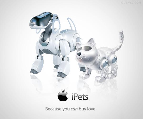 ipets - 5 produits Apple qui n'existeront (sûrement) jamais