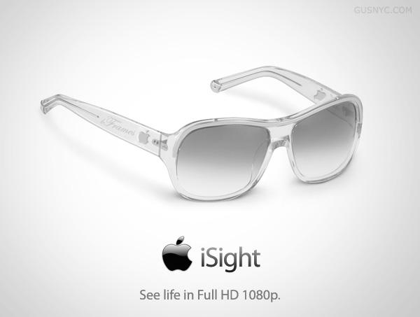 isight - 5 produits Apple qui n'existeront (sûrement) jamais