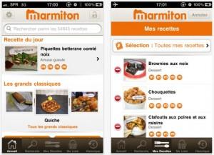 application marmiton