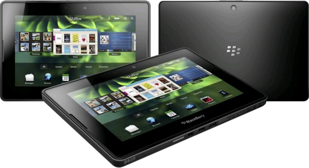 Voir les caractéristiques de la BlackBerry PlayBook 16 Go Wifi Noir