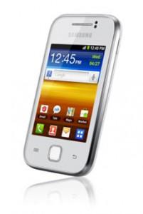 Voir la fiche du Samsung Galaxy Y Blanc