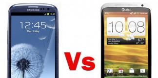 Samsung Galaxy S3 ou HTC One X ? Comparez toutes leurs caractéristiques