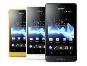 Voir la fiche du Sony Xperia Go