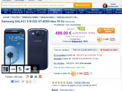 Galaxy S3 Priceminister