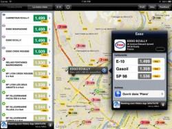 application pour trouver la station d 39 essence la moins ch re sur iphone et android meilleur mobile. Black Bedroom Furniture Sets. Home Design Ideas