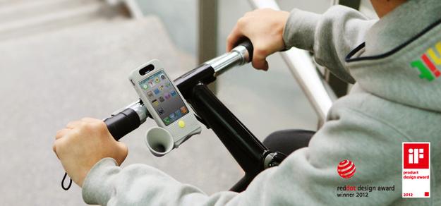 bike - 10 accessoires pour mobiles complètement absurdes