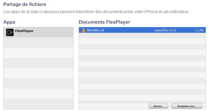 captureitunes - Comment mettre une vidéo (avi, DivX...) sur mon iPhone/iPad