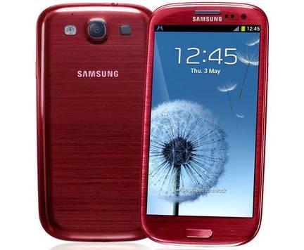 gs3rouge - Découvrez les nouvelles couleurs du Samsung Galaxy S3
