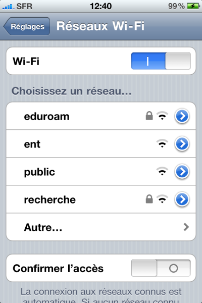 iphonewifi - Comment connecter son smartphone en Wi-Fi ?