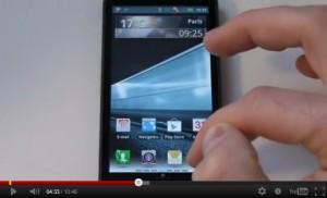 Voir la fiche technique du Motorola Motoluxe