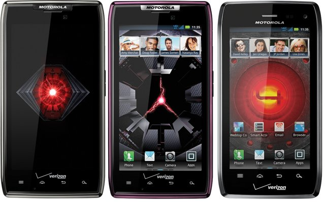 Voir la fiche du Motorola Razr Maxx Noir