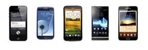 Comparez les meilleurs smartphones du moment !