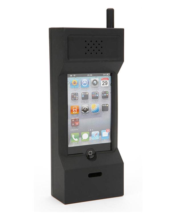retro - 10 accessoires pour mobiles complètement absurdes
