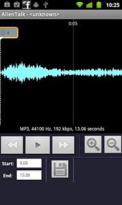 Faire une sonnerie MP3