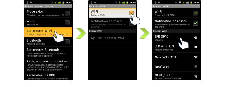wifiandroid1 - Comment connecter son smartphone en Wi-Fi ?
