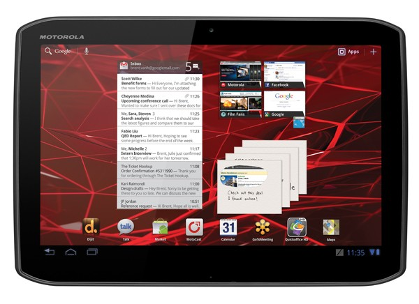 xoom2 1 - Motorola Xoom 2 : prix, photos et caractéristiques