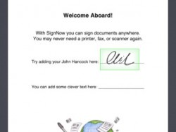 Application Sign Now
