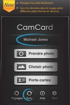 Application camcard