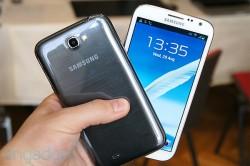 Galaxy Note 2 noir et blanc