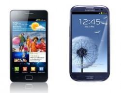 Les Samsung Galaxy S2 et S3