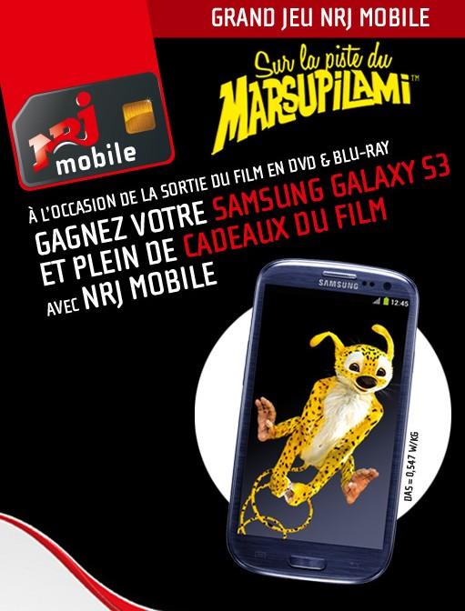 Jeu concours NRJ Mobile découvrez si vous avez gagné !