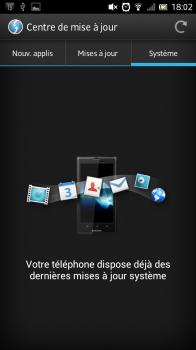 Mise à jour Android3